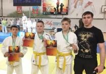 Калужские дзюдоисты взяли 5 медалей на турнире в Пущино