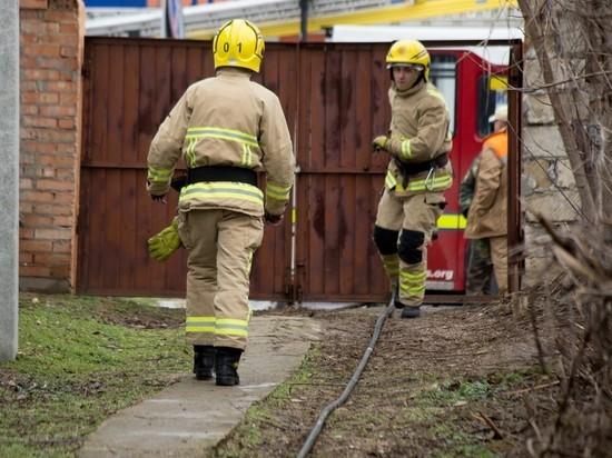 В труднодоступной деревне в Устьянском районе произошёл пожар