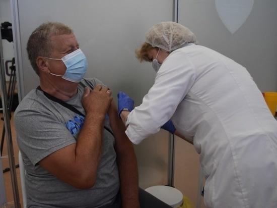 Более двадцати тысяч жителей Серпухова сделали прививку от коронавируса