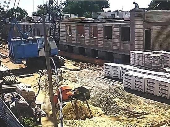 В калмыцком районе строят дом-интернат для престарелых и инвалидов