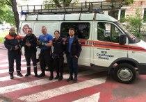 Очередного пернатого вызволили спасатели - добровольцы поисково-спасательного отряда «СпасРезерв»