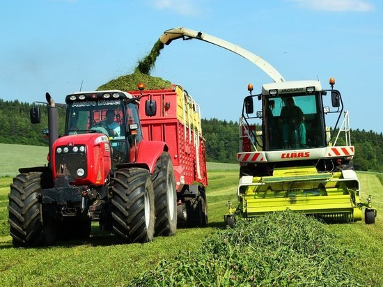Нижегородские сельхозпроизводители начали косить травы