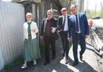 В переулке Восточном в Иркутске начался долгожданный ремонт