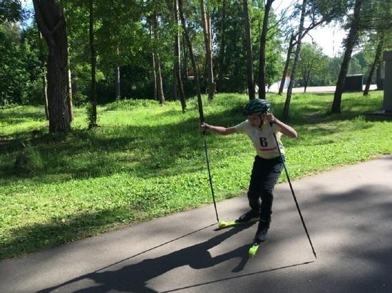 Соревнования по лыжероллерам прошли в Серпухове