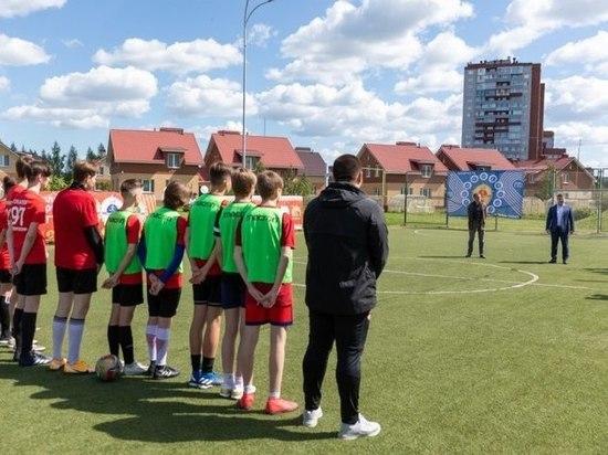 В псковской деревне SOS состоялся традиционный футбольный матч