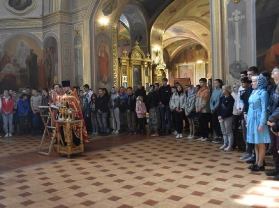 На добрые дела благословили детей в Серпухове