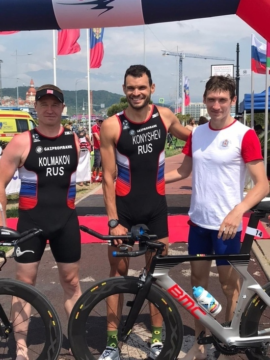 Две золотые медали завоевали нижегородцы на чемпионате по паратриатлону