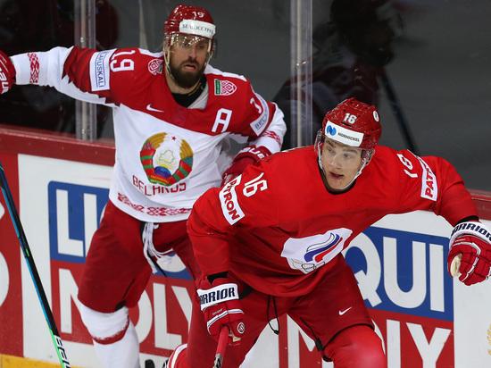 Россияне обыграли белорусов, забросив им пять шайб еще в первом периоде