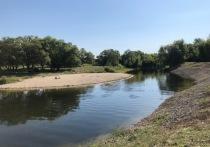 В Курске продолжат чистить русло реки Кривец за 90 млн рублей
