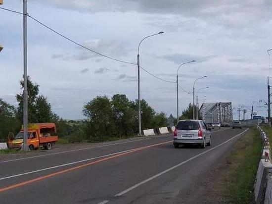 Мост в районе Подсинего еще открыт для проезда