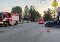 Один человек пострадал в ДТП на Московской в Калуге