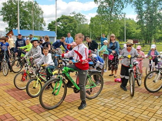 Дню защиты детей посвятили велопробег в Биробиджане