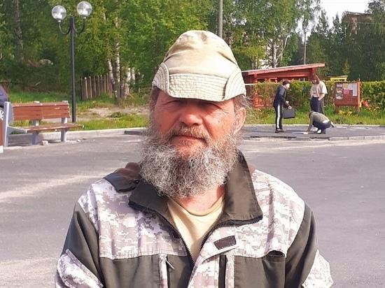 Необычный блогер, путешествующий по России пешком, дошел до Карелии