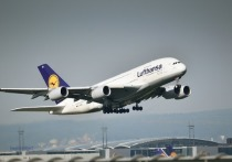 Lufthansa отменила на день рейсы из Москвы и Санкт-Петербурга во Франкфурт