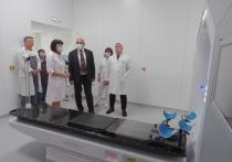Новый руководитель минздрава Калужской области посетил онкологический диспансер