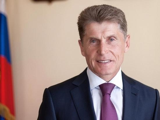 Губернатор Приморья — в ТОП10 богатейших в России