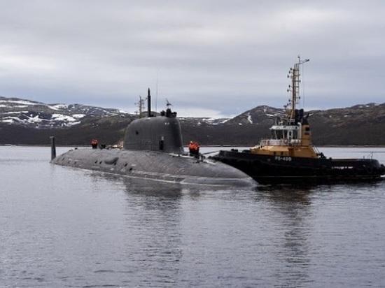 Новейшая атомная субмарина «Казань» прибыла в Североморск