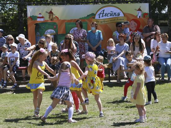 В парке «Лесная сказка» провели грандиозный праздник в честь Дня защиты детей