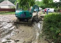 Обильные дожди привели к подтоплениям в Адыгее