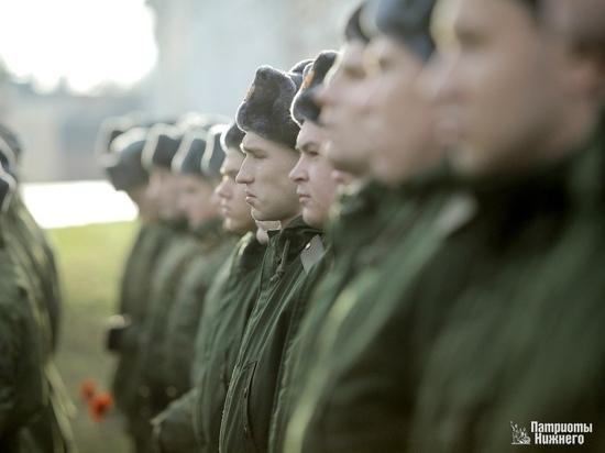 Более 200 нижегородцев весеннего призыва уже служат в армии