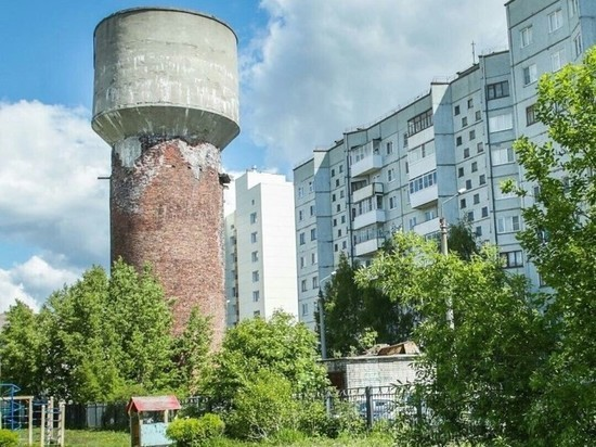 В Архангельске случилась проблема с водонапорной башней: режим ЧС?