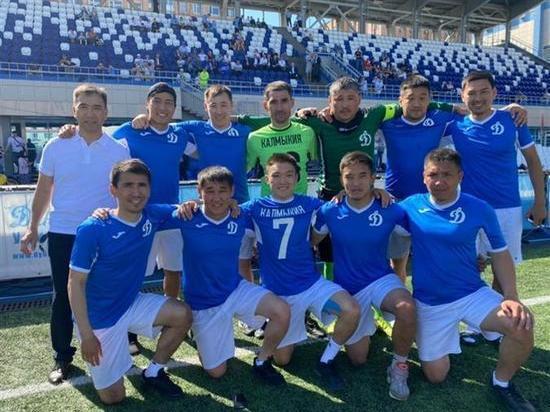 Калмыцкие динамовцы  стали чемпионами страны по мини-футболу
