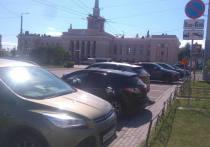Горожане решают, как расположить парковку у вокзала Петрозаводска