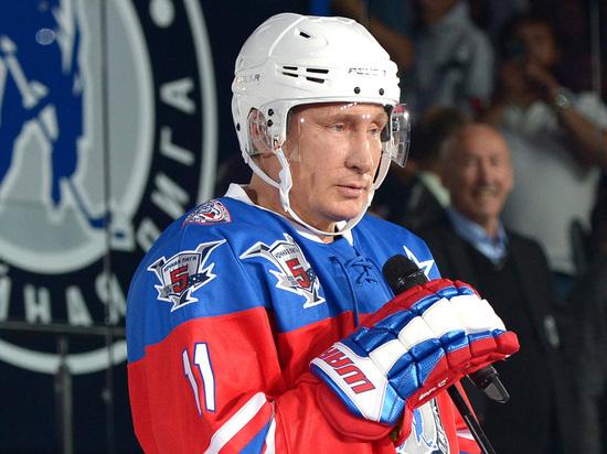 Путин пообещал сыграть в хоккей с ветеранами команд Хакасии, Тувы и Красноярска