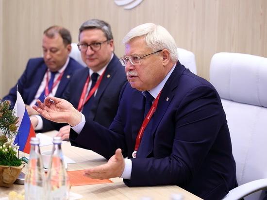 Томская область расширит экономическое и культурное сотрудничество с Италией