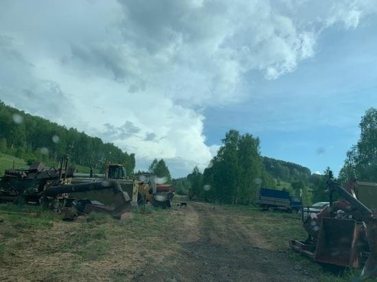 Скандальных золотодобытчиков заметили в Солонешенском районе