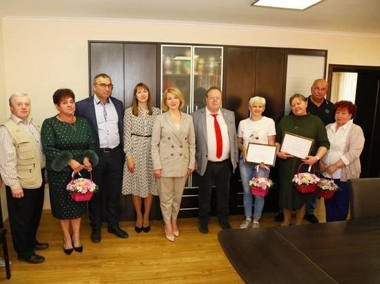 Глава Серпухова поздравила сотрудников старейшего предприятия