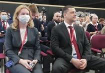 Псковская делегация во главе с Михаилом Ведерниковым приступила к работе на ПМЭФ