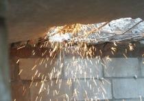 В одной из уфимских квартир обрушился потолок