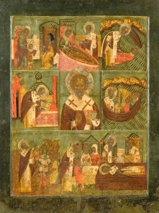 В Кирове впервые показали Великорецкую икону XVI века, скрытую в частной коллекции