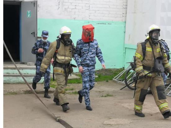 В Кирове в СИЗО-2 поступил сигнал о о возгорании