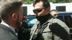 Охранник Моргенштерна подрался с журналистом во время интервью