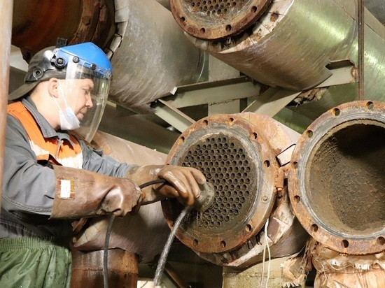 Т Плюс проводит очистку оборудования ЦТП в Кирове с помощью «Зевса»