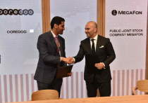 МегаФон и катарский оператор связи подписали меморандум о взаимопонимании