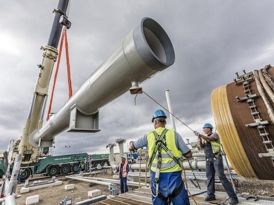 Эксперты рассказали, какие проблемы ждут газопровод после выхода на сушу