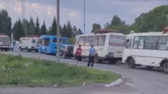 Транспортный коллапс в Кемерове