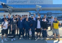 Якутская «Арктика» выехала на Камчатку на игру второго тура первенства ДФО