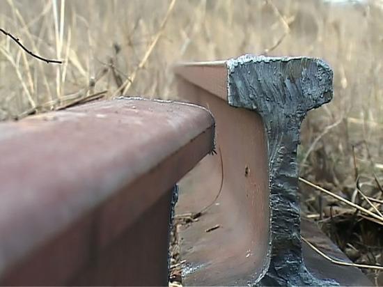 В Тверской области на глазах у машиниста украли рельсу