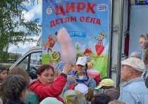 1 июня дан старт Общероссийской программе «Цирк - детям села»