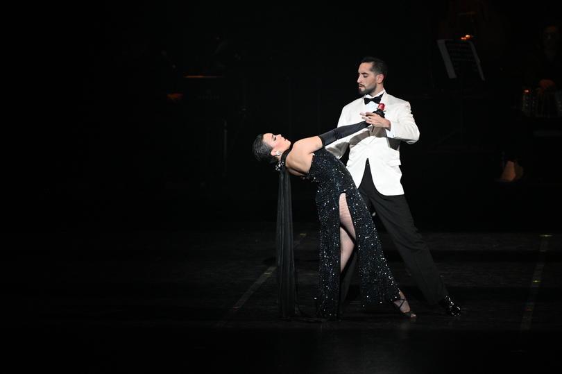 Король танго Херман Корнехо взорвал танцем Москву