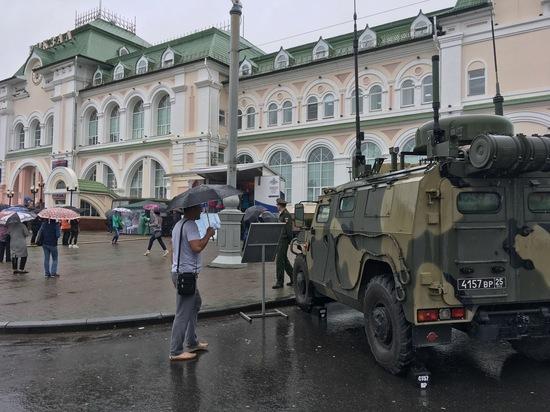 Агитпоезд «Мы армия страны, мы армия Победы» прибыл в Хабаровск