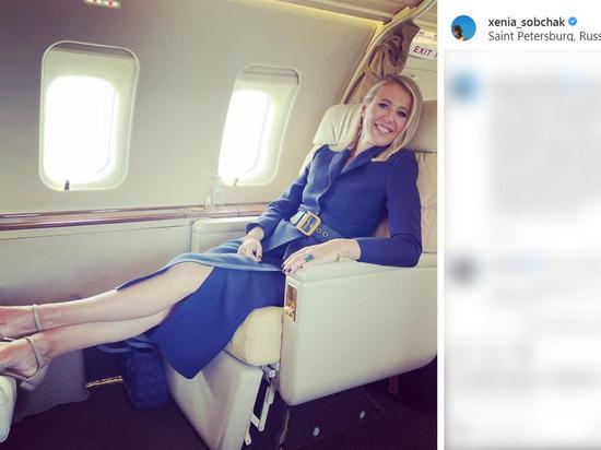 Собчак оказалась на борту аварийно севшего в Москве самолета: «Стремновато»