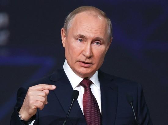 Президент очно поучаствовал в постковидном форуме