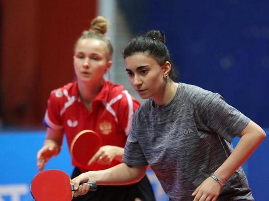 На открытом первенстве по настольному теннису в Тунисе нижегородки завоевали две золотые медали