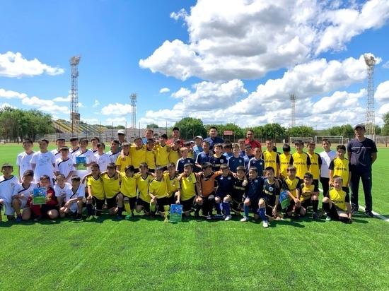 В столице Калмыкии прошел республиканский финал по футболу