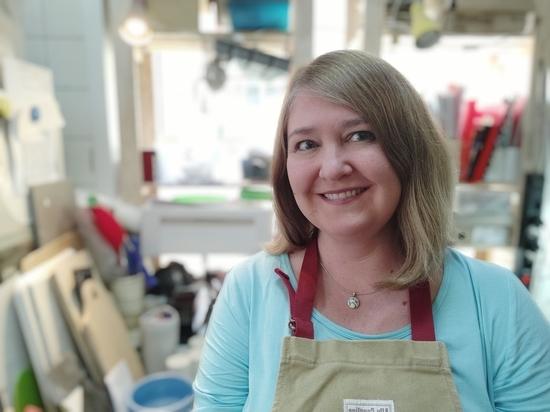 Керамист Наталия Хлебцевич рассказала, как в фарфоре вырастить тыкву
